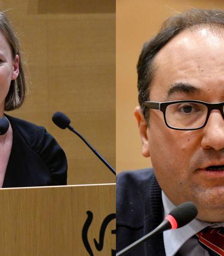 Caroline Désir et Ahmed Laaouej en quarantaine