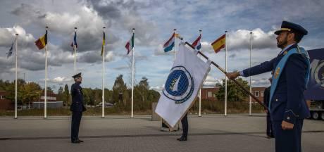 Tien jaar samenwerking in de lucht: ceremonie op Vliegbasis Eindhoven