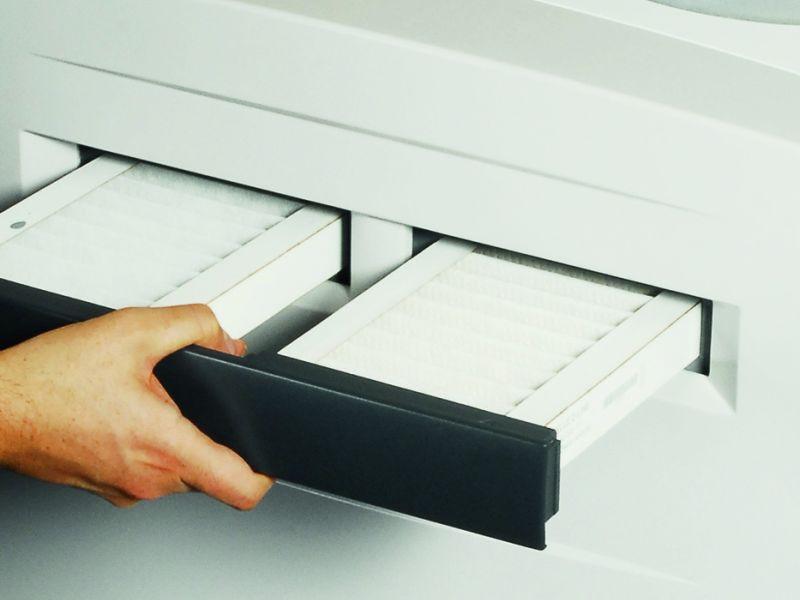 Si les filtres ne sont pas propres, c'est de l'air vicié qui sera amené dans votre habitation.