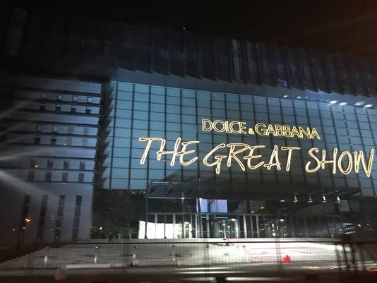D&G zag zich genoodzaakt een grote modeshow in Sjanghai te schrappen.