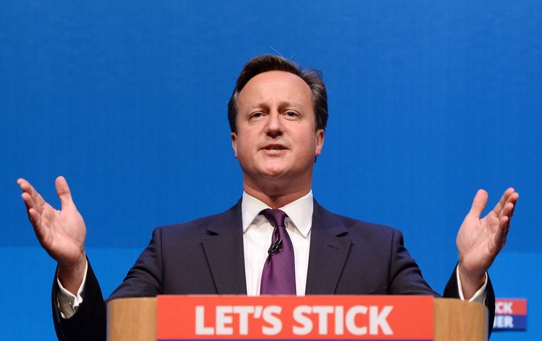 David Cameron. Beeld afp