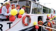 Supporters KV Mechelen met boten naar bekerfinale