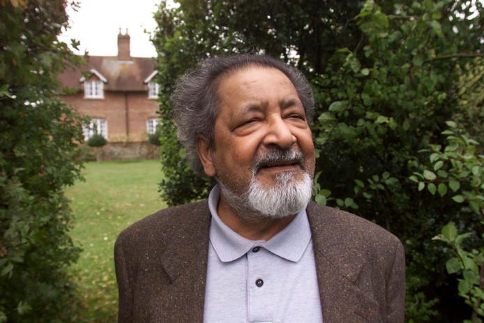 V.S. Naipaul in 2001.