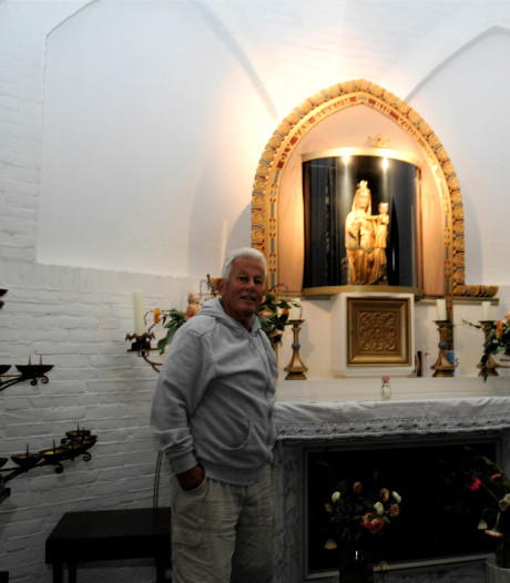 Duplicaat Mariabeeld gestolen uit kerk Renkum