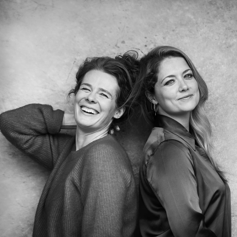 Christine de Boer (links) en Yentl Schieman.  Beeld Frank Ruiter