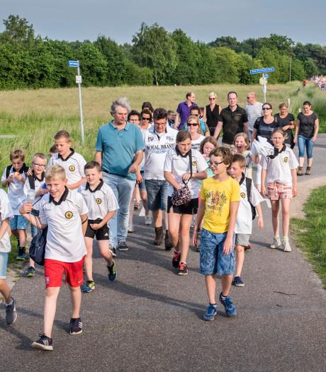 Domper: geen avondvierdaagse voor Haaksbergse schooljeugd