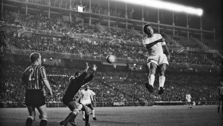 1965: Real Madrid-Feyenoord (5-0). Beeld ANP