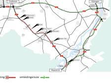 A2 dit weekend dicht tussen Nederweert en Maarheeze