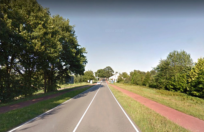 Bergsebaan tussen Wouw en Heerle