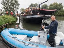 Op zoek naar oorlogswrakken in de Biesbosch: 'Het lijkt op een propeller'