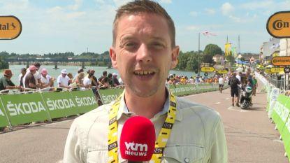 """Merijn Casteleyn over langste rit van deze Tour: """"Buitenkans voor de sprinters"""""""