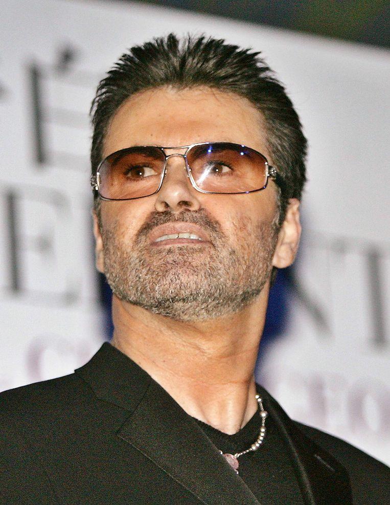 George Michael, zanger van Wham! Beeld afp