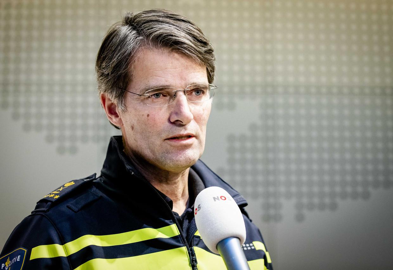 Korpschef Erik Akerboom. Beeld ANP
