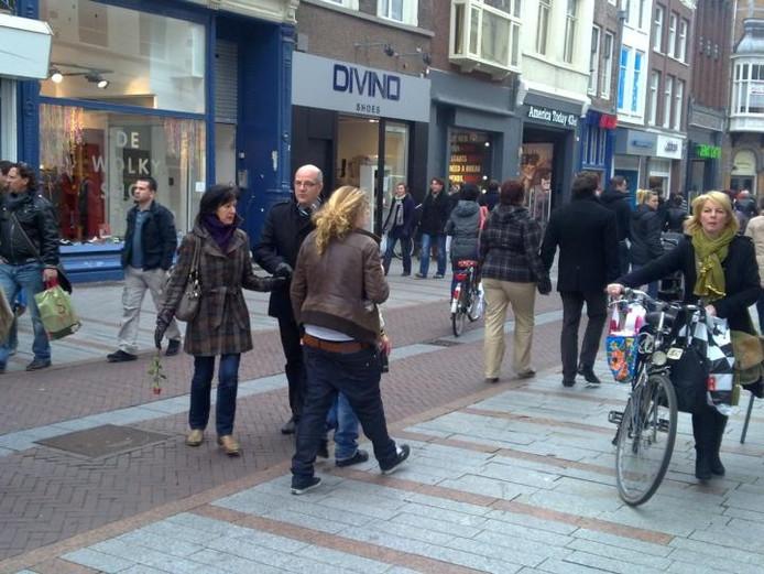 In de Hinthamerstraat zijn winkels gevestigd die in een shoppingroute worden genoemd. foto Marc Brink/BD