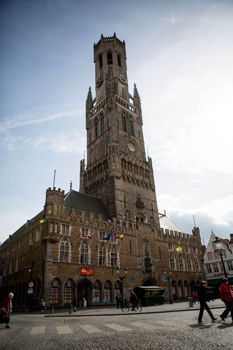 Het Belfort van Brugge.