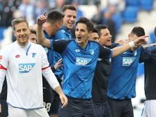 Hoffenheim naar derde plek na late zege op Frankfurt