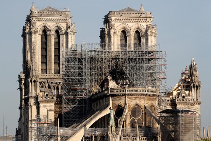 De Notre-Dame na de brand
