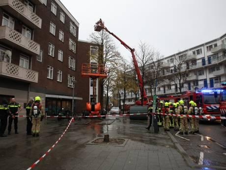 Grote brand in Rösener Manszstraat: acht woningen ontruimd