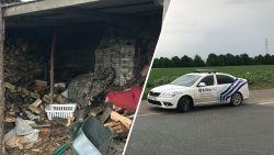 Spectaculaire achtervolging op Brusselse buitenring eindigt in Asse: overvallers verstopt onder houtstapel