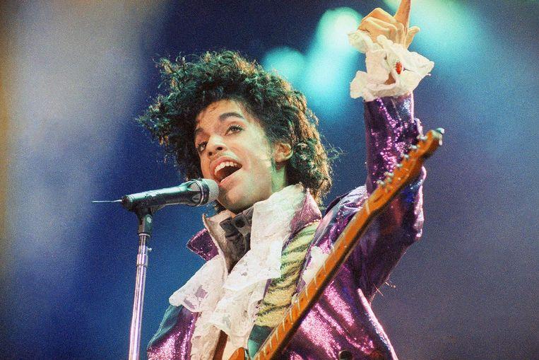 Prince in 1985. Beeld ap