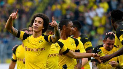 Witsel en Dortmund dollen met Stuttgart, met pareltje lukt Alcacer zevende goal in 126 minuten