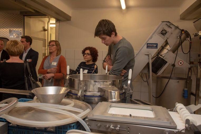 Rondleidingen in Food Pilot bij de opening van de nieuwe demoruimte.