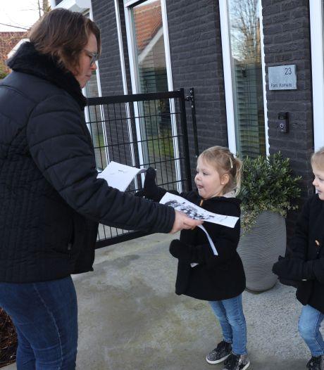 Juf Marina bezoekt haar kleuters aan huis: 'Juf, we hebben een sneeuwballengevecht gedaan!'