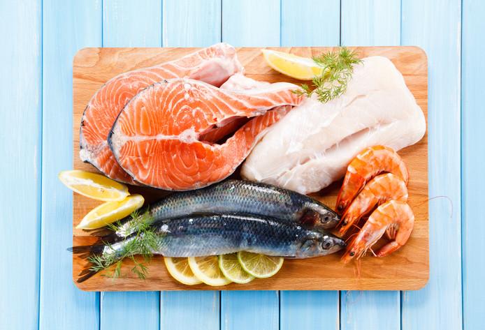 Vis eten is minder belastend voor het milieu dan vlees eten.