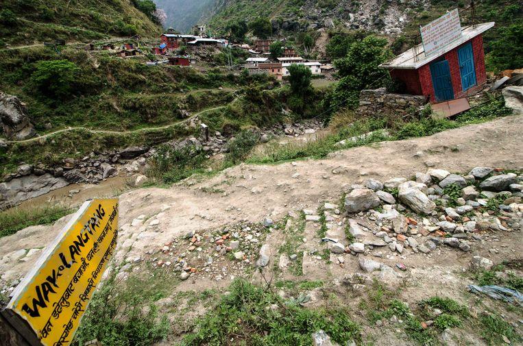 Het begin van de Langtang Trail. Beeld ap