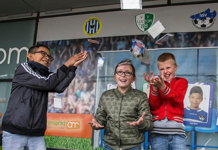 Vlnr. Siem Houmes, Meike van Hese en Pieter Feijtel