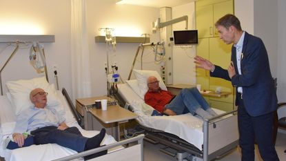 Frank Deboosere steekt kankerpatiënten hart onder de riem