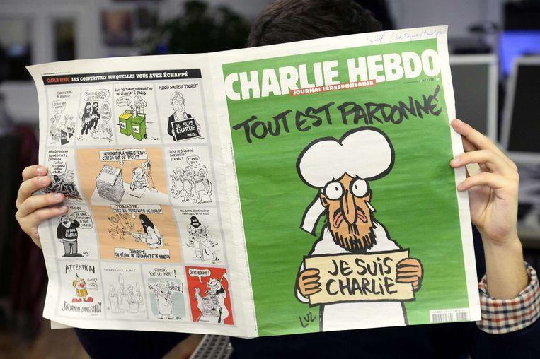 Charlie Hebdo Beeld afp