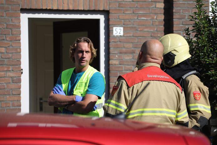 Incident in Duivenstraat Oss.