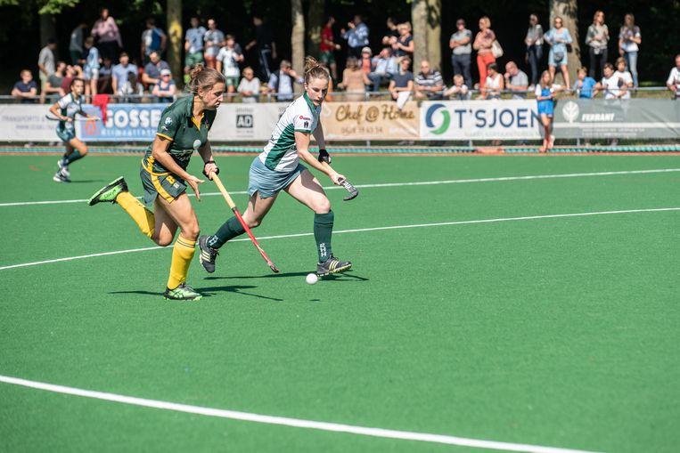Het waterveld is voor damesploeg van Royal Hermes Hockey Club cruciaal dit seizoen.
