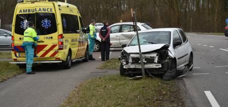 Vrouw raakt gewond bij botsing in Babberich