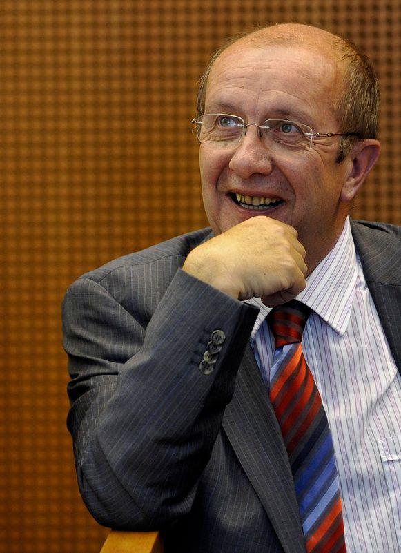 Burgemeester Eric Tomas (PS).