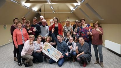 Dreefrock beloont het voorleesproject van OCMW Kampenhout