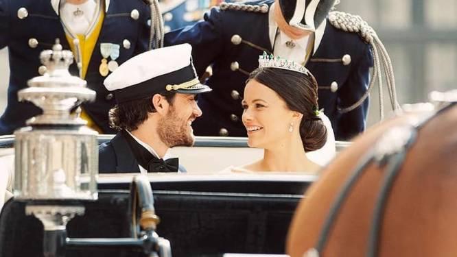 IN BEELD. Zweedse prins Carl Philip en prinses Sofia vieren vijfjarig huwelijk