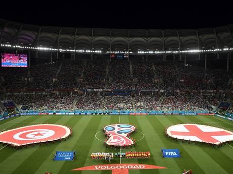LIVE: Tunesië via penalty langszij, beter Engeland raakt paal en lat