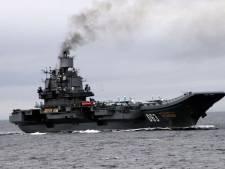 Gewonden door brand op Ruslands enige vliegdekschip