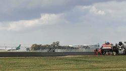 Betonnen muur van bijna meter hoog moet luchthaven Zaventem beter beveiligen