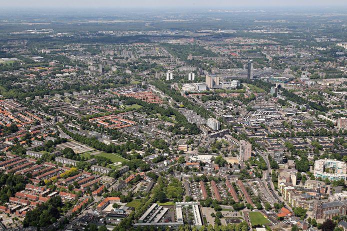 Stadsdeel Woensel in Eindhoven, een van de wijken die meer aandacht nodig heeft van het gemeentebestuur.