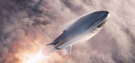 SpaceX is begonnen met bouw van prototype Starship-ruimtevaartuig