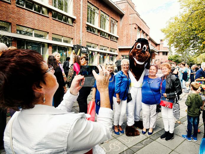 Ook de mascotte van de Dierenvoedselbank was van de partij op het ZON Festival.