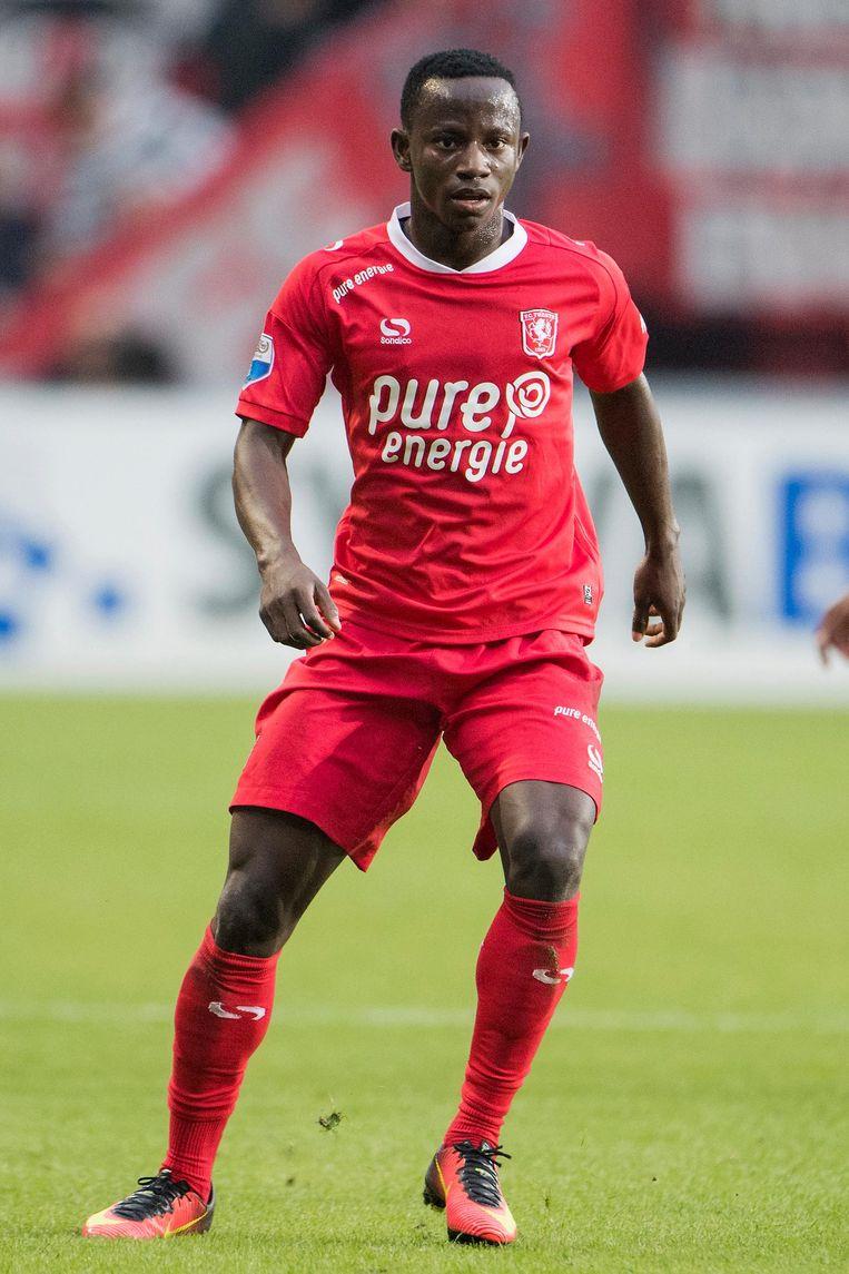 Manchester City-huurling Yaw Yeboah. Beeld Jasper Ruhe