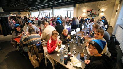 Club serveert sterrenmaal voor 150 kansarmen
