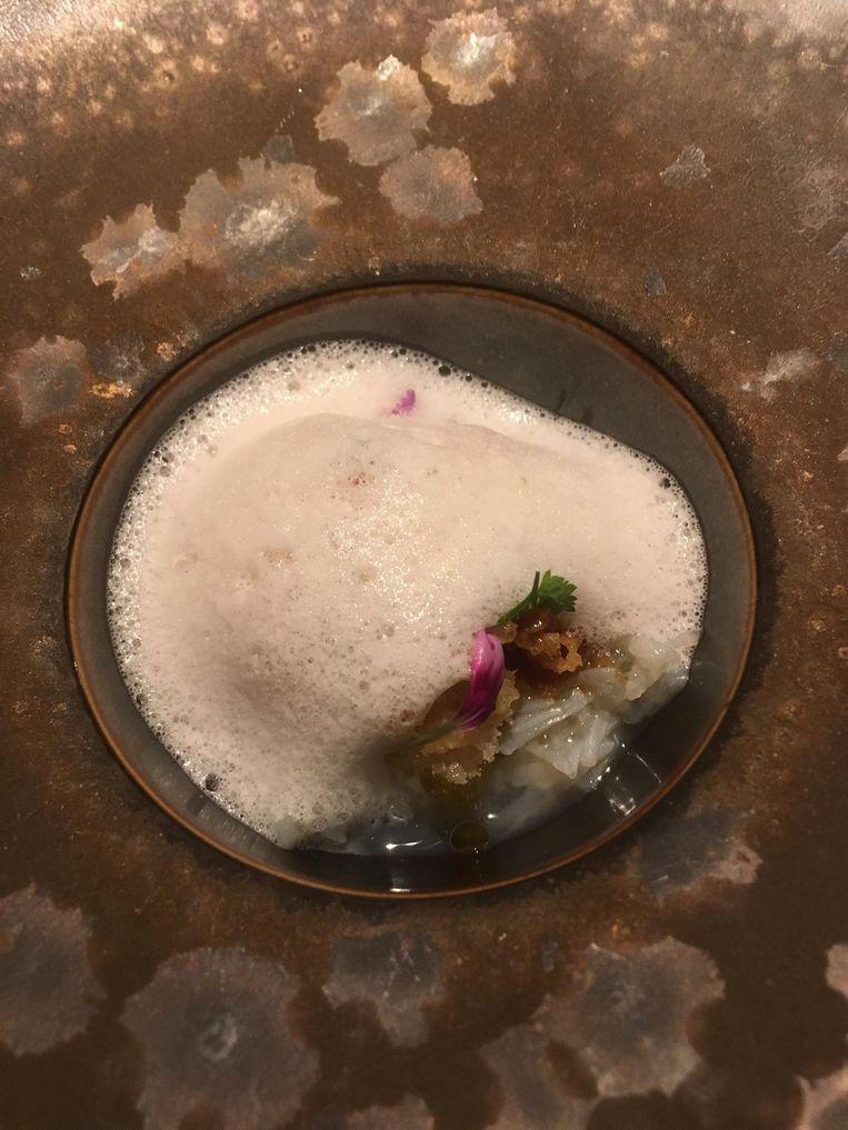 De Salade van Noordzeekrab. Beeld Mac van Dinther