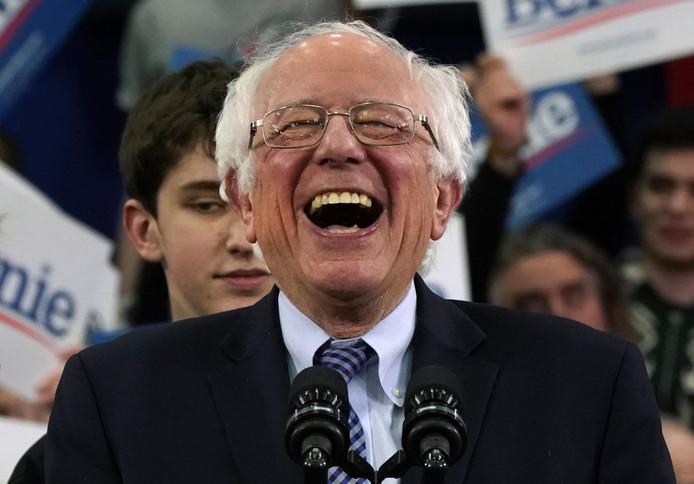 Bernie Sanders is er klaar voor.