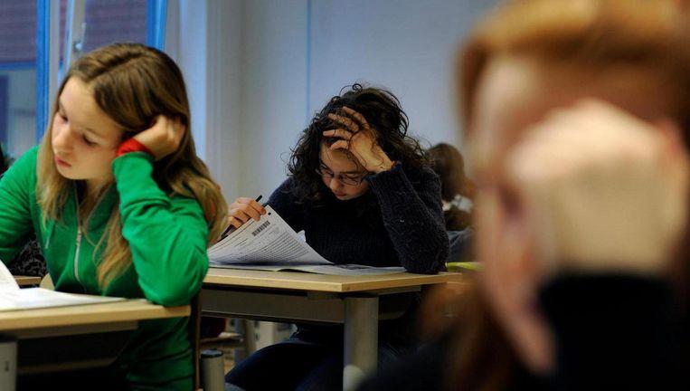 Scholen met hoofdzakelijk migrantenkinderen verwijzen zelden leerlingen door naar zogenoemde dyslexiezorg. Beeld anp