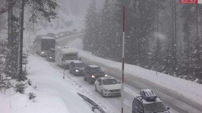 Lokaal tot één meter extra sneeuw in de Alpen